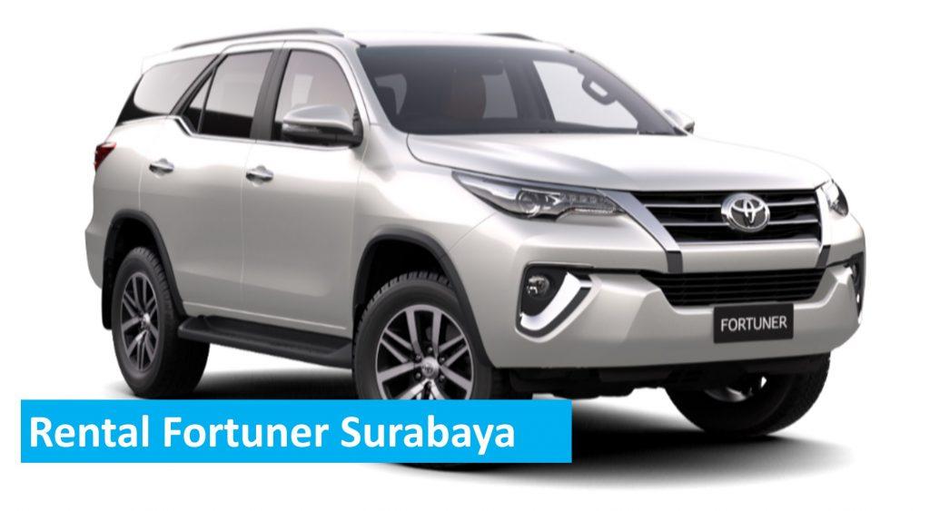 rental fortuner surabaya