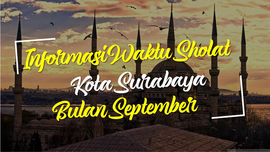 Informasi Jadwal Sholat Surabaya 2021 1